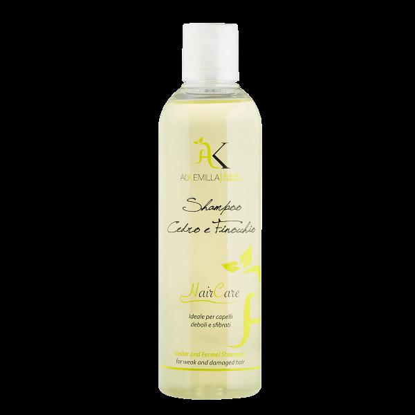 Wzmacniający szampon do włosów słabych i zniszczonych 250ml - Alkemilla