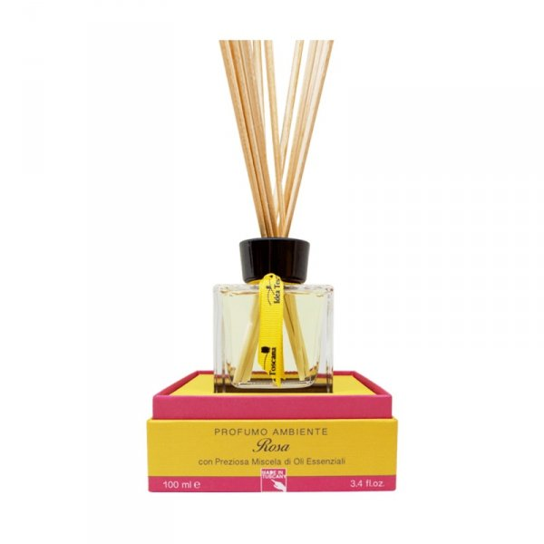 Zapach z patyczkami do domu 100ml ROSA - Idea Toscana