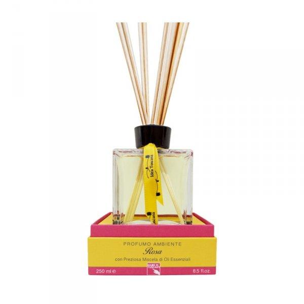 Zapach z patyczkami do domu 250ml ROSA - Idea Toscana