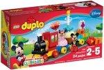 LEGO Polska DUPLO Disney TM Parada urodzinowa myszki Miki i Minnie