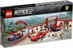 Speed Champions Rewelacyjny warsztat Ferrari