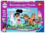 Ravensburger Puzzle 2x24 elementy - Nella, Przygody