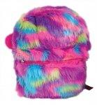 Stnux Plecak kolorowe futro