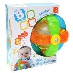 B-kids B-KIDS Świecąco grająca piłeczka