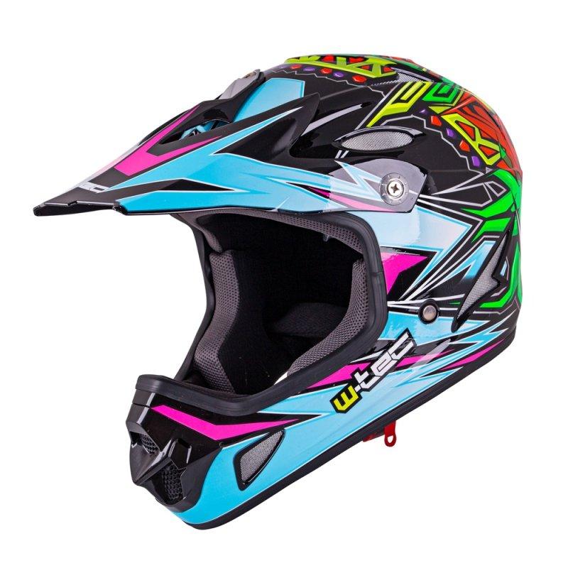 Kask Downhill Na Rower Motor Enduro W Tec Fs 605 Allride Kolor