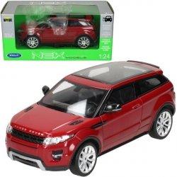 Samochód Land Rover Evoque, czerwony