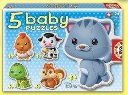 Educa Puzzle Baby 19 elementów Zwierzęta