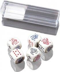 Piatnik Kości pokerowe małe 5szt