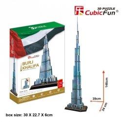 Cubicfun 3D Burj Khalifa Zestaw XL