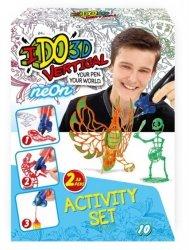 Formatex Neonowa zabawa - 2 dlugopisy 3D IDO3D