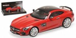 MINICHAMPS Brabus 600 Auf Basis Mercedes-Ben AMG GTS 2016 (red)