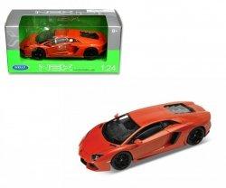 Welly Samochód Lamborghini Aventador LP, czerwony