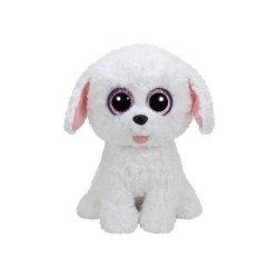 TY Beanie Boos Pippie - Biały piesek 24 cm