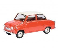 SCHUCO Goggomobil Limousine (red/white)
