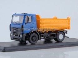 SSM MAZ-5550 Dumper Truck (blue/yellow)
