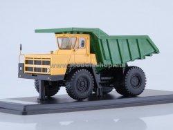 SSM BELAZ-7522 Quarry Dump Truck (yellow/green)