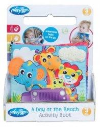 Playgro Książeczka aktywnościowa - Dzień na plaży