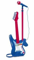 Bontempi Gitara elektryczna z mikrofonem na statywie