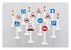 WADER-POLESIE Zestaw znaków drogowych 16 elementów