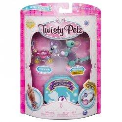 Bransoletki Twisty Petz - 3-pak Mysz, kangur, jeleń