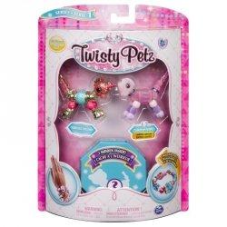 Bransoletki Twisty Petz - 3-pak Jednorożec, szczeniaczek, żyrafa