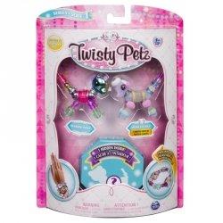 Bransoletki Twisty Petz - 3-pak Kucyk, pudel, kot