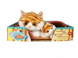 Madej Maskotka Kot z głosem rudy 34 cm