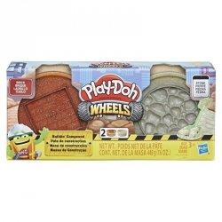 Hasbro Masa plastyczna Play-Doh Wheels Cegły i kamienie