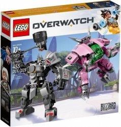 LEGO Polska Klocki Overwatch D.Va & Reinhardt