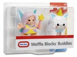 Figurki WAFFLE BLOCKS 2-pak Wróżka i jednorożec