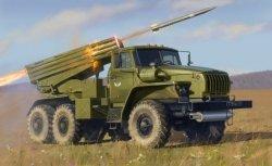 Zvezda Model plastikowy BM-21 GRAD Multiple Rocket Launcher