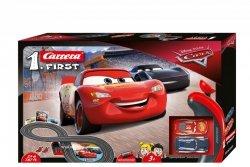 Carrera Tor wyścigowy First na baterie Disney-Pixar Auta 2,4m