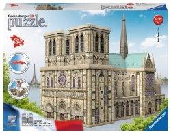 Puzzle 324 elementy Katedra Notre Dame