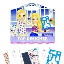 Symag Kolorowanka Fashion z naklejkami Toi-Toys 46133 Top Designer