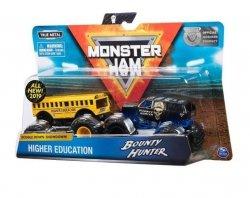 Spin Master Auta MONSTER JAM 1:64 2- pak, Higher Eduacation vs Bounty Hunt