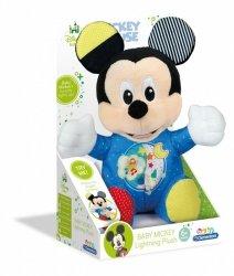 Clementoni Maskotka Baby Miki Świecący Pluszak