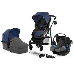 Kinderkraft Wózek wielofunkcyjny 3w1 Juli Denim