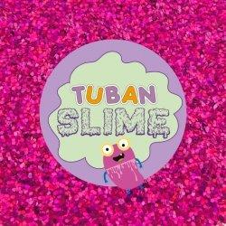 TUBAN Brokat Slime różowy