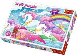 Trefl Puzzle 160 elementów - Galopujący jednorożec