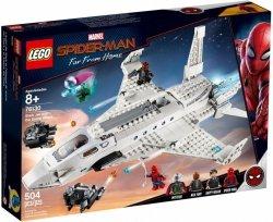 LEGO Polska Klocki Super Heroes Odrzutowiec Starka i atak dronów