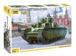 Zvezda Model plastikowy Radziecki czołg ciężki T-35
