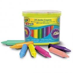 Goliath Kredki świecowe Baby grube 24 sztuki Crayola