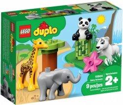 LEGO Polska Klocki DUPLO Małe zwierzątka