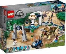 LEGO Polska Klocki Jurassic World Atak triceratopsa