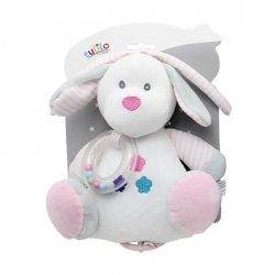Axiom Pozytywka New Baby Piesek biały 18 cm