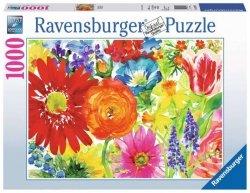 Ravensburger Puzzle 1000 elementów Bujność kwiatów