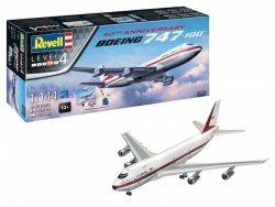 Revell Model plastikowy Zestaw upominkowy 50th Anniversary Boeing 747-100 1/144