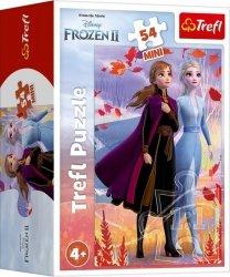 Trefl Puzzle 54 elementy Mini Frozen 2 (Kraina Lodu) 40 sztuk/displaya