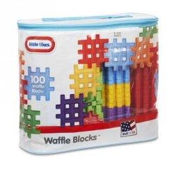 Klocki Waffle Blocks Zestaw 100 elementów