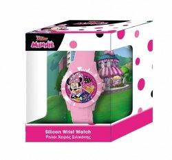 Pulio Zegarek analogowy w pudełku - Minnie